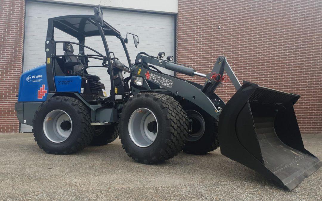 Giant V4502T X-tra voor Aannemersbedrijf de Jong Hoogwoud BV