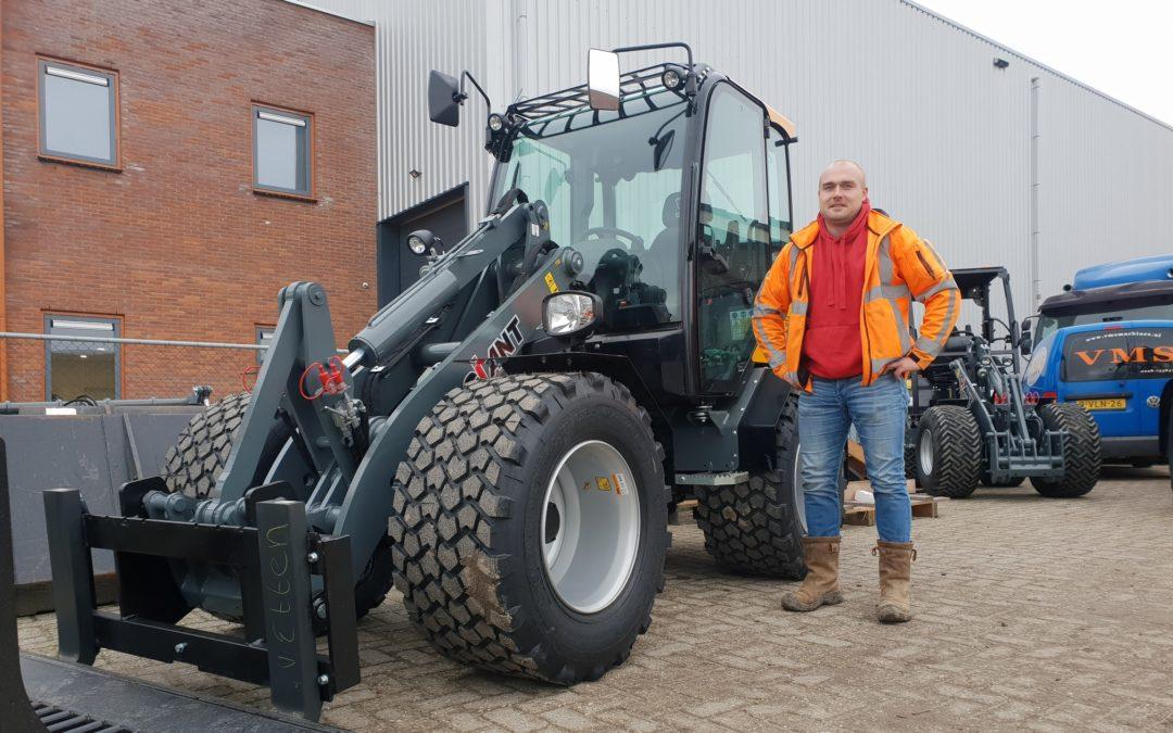 Giant V5003 X-tra HD voor Loon- en aannemingsbedrijf van Etten.