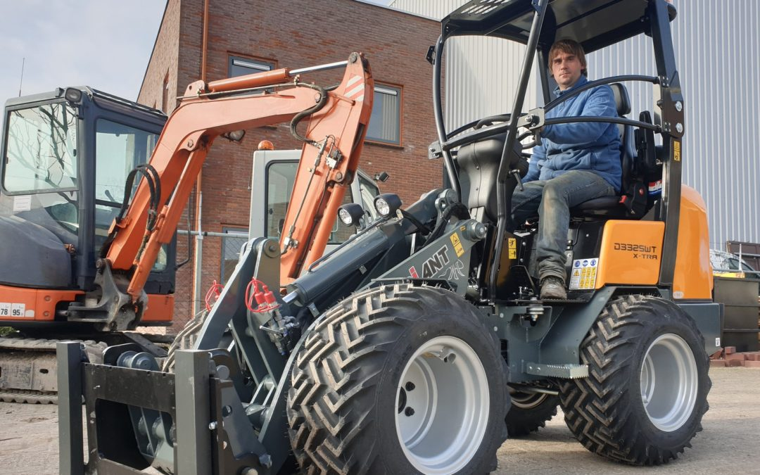 Giant D332SWT X-tra wiellader voor Green DC