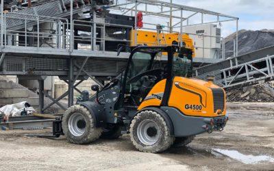 Giant G4500 X-tra kniklader voor Heilig Rental