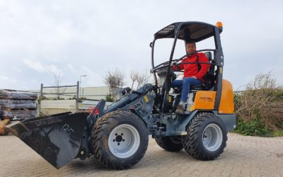 Giant D263SW X-tra voor Frank Blom Hoveniers