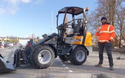 Giant G1500 X-tra voor Varto Bestrating