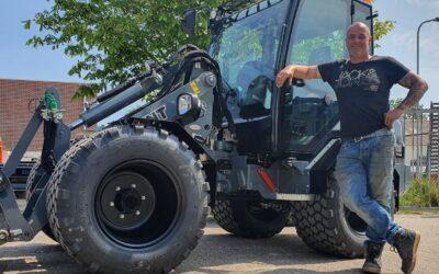 Giant G3500 X-tra wiellader voor Vermaning Bestratingen