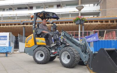 Elektrische Giant G2200E X-tra voor J.R.M. Bouw