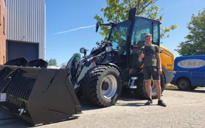 Giant G5000 X-tra kniklader voor Roelofsen BV Machineverhuur & Grondwerken