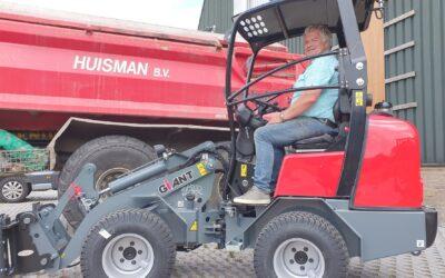 Giant G1500 X-tra voor Huisman BV Venhuizen