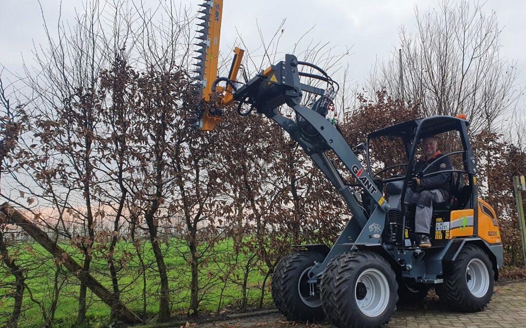 Elektrische Giant G2200E X-tra voor Camping Het Stammeland