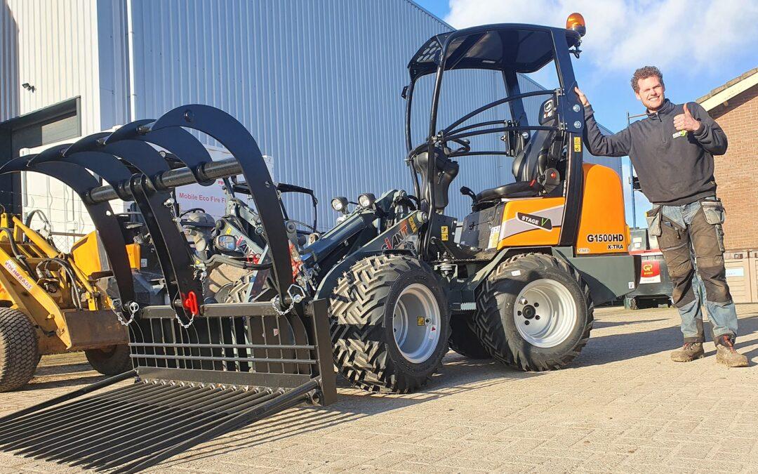 Giant G1500 X-tra voor Reus Hoveniers