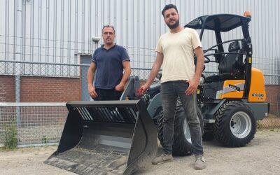 Giant G1500 X-tra voor Stratenmakersbedrijf Ahmet