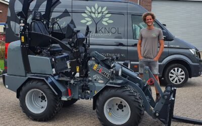 Giant G1500 X-tra HD voor Yannick Knol Hoveniers